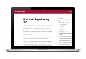 college application guide